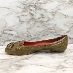 Jeffrey Campbell Olive Oxfords With Tassels Flats
